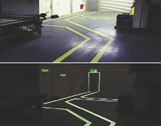 Glow In The Dark Safety Markings - 915 Stangard Photoglow Paint